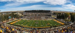 Overlooking the war on gameday - Photo courtesy of www.collegian.com