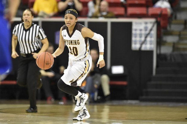 Senior guard Marquelle Dent was named to the Mountain West all-conference team this week. (Photo via NCAA Photos)