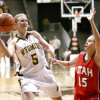 Wyoming Athletics announced their incoming Hall of Fame class for 2016. Hanna Zavecz, above, will be part of that class. (Photo via Cowgirl Basketball)