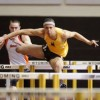 Cowboy junior Jordan Charles finished 12th in the 60m hurdles at the NCAA indoor championships last week in Birmingham, AL. (Photo via Wyoming Athletics)