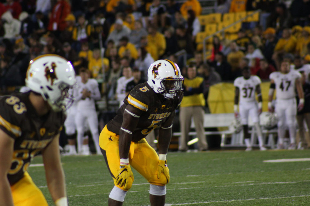 Wyoming running back Brian Hill moved to the top of the Cowboy career rushing list in a Border War win vs Colorado State.