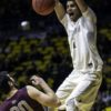 Justin James dunks in the home win versus Montana. Photo Credit: Pete Arnold