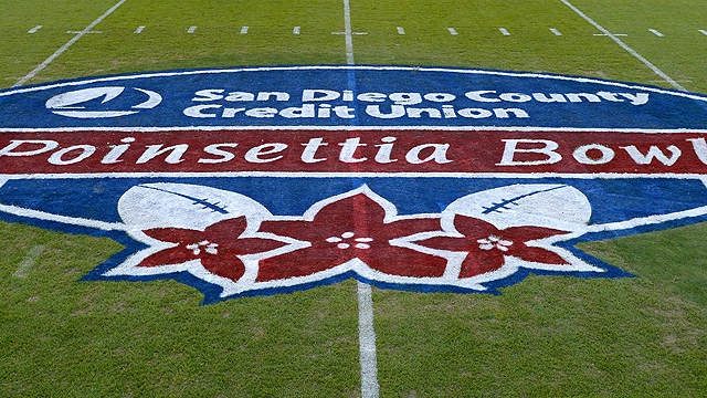 The 2016 edition of the Poinsettia Bowl will feature Wyoming vs BYU in the renewal of an old MW and WAC rivalry.